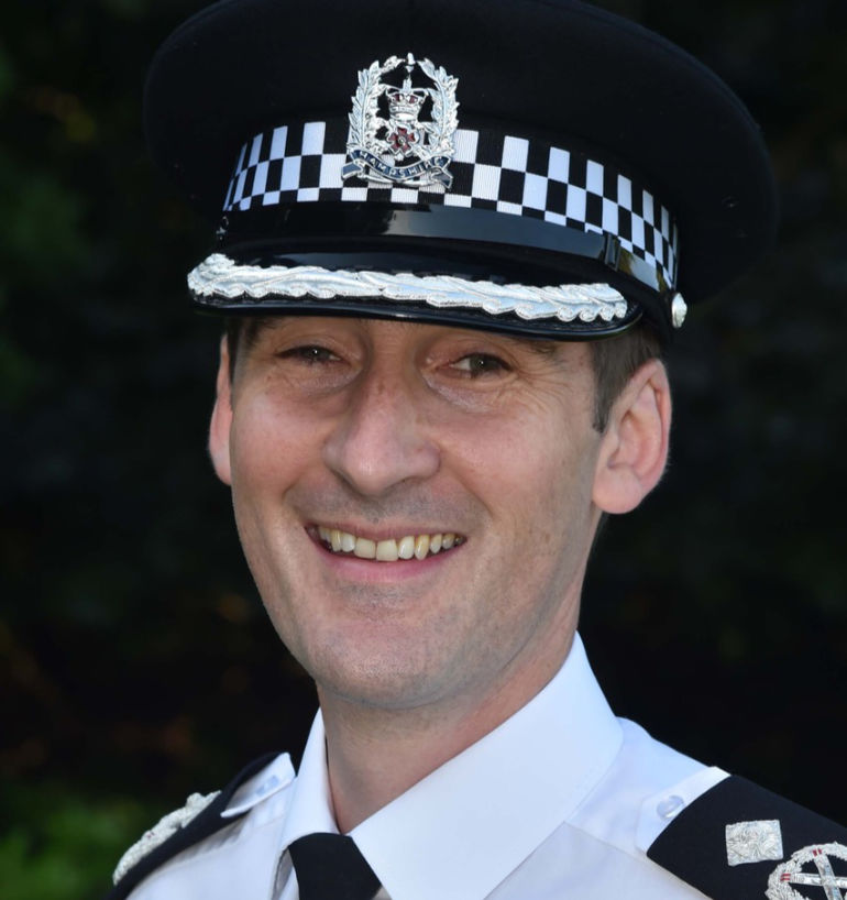 Ben Snuggs took up his new role as deputy chief constable for Hampshire on 3 September
