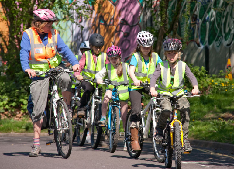 Bikeability courses will be held at Kings Park Cycle Centre (Image permission from Life Cycle)