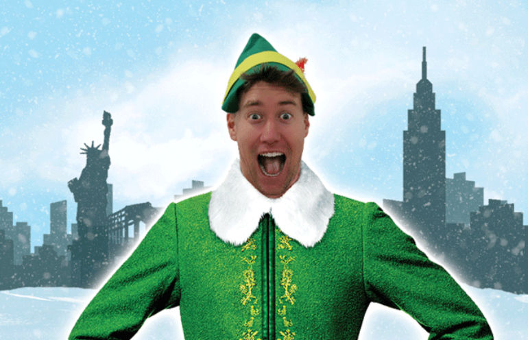 Buddy the elf is due to appear on stage in Poole from 24-27 November
