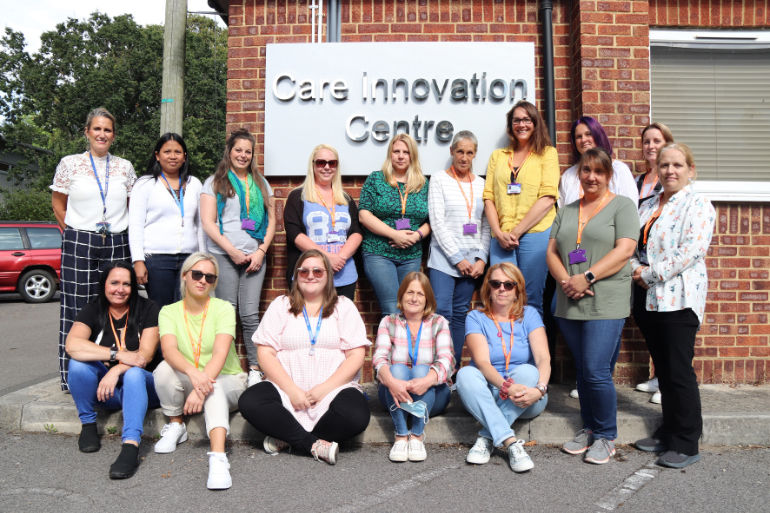 Healthcare and Nursing Associate apprentices at Bournemouth & Poole College