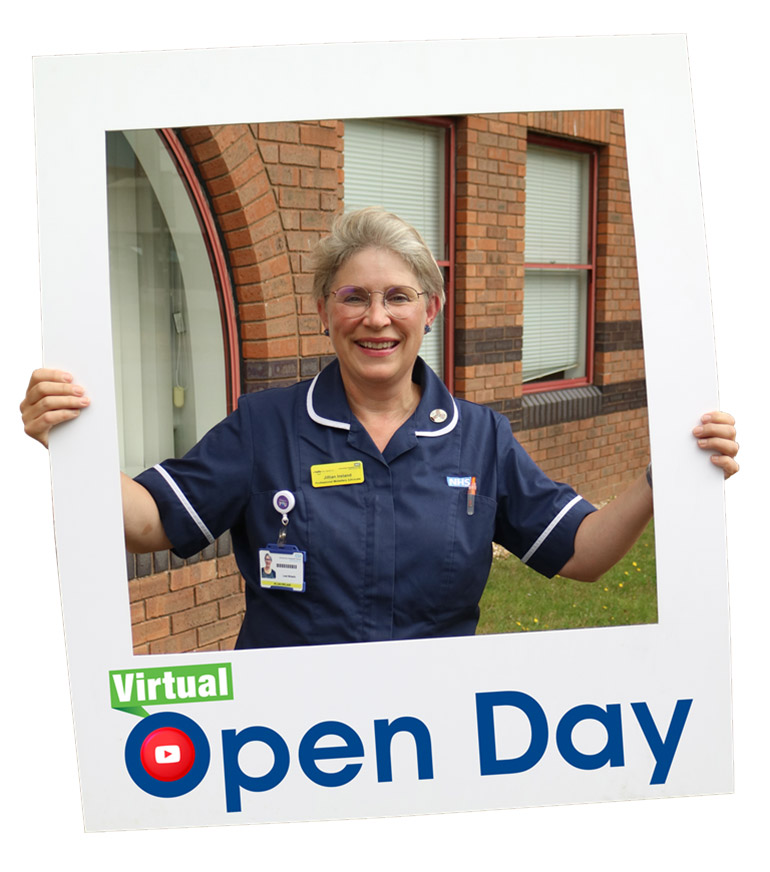 Jillian Ireland, midwife and professional midwifery advocate, gave one of the live virtual talks at the open day