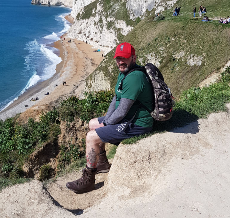 Veteran Paul Thorner will take part in the Jurassic Coast March to raise funds for The Rifles Regimental Trust