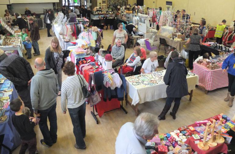 A previous craft fair