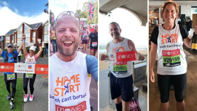 Marathon runners Home Start